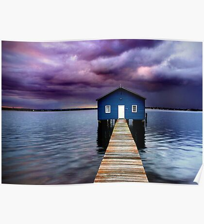 Blue Boathouse 2 Poster