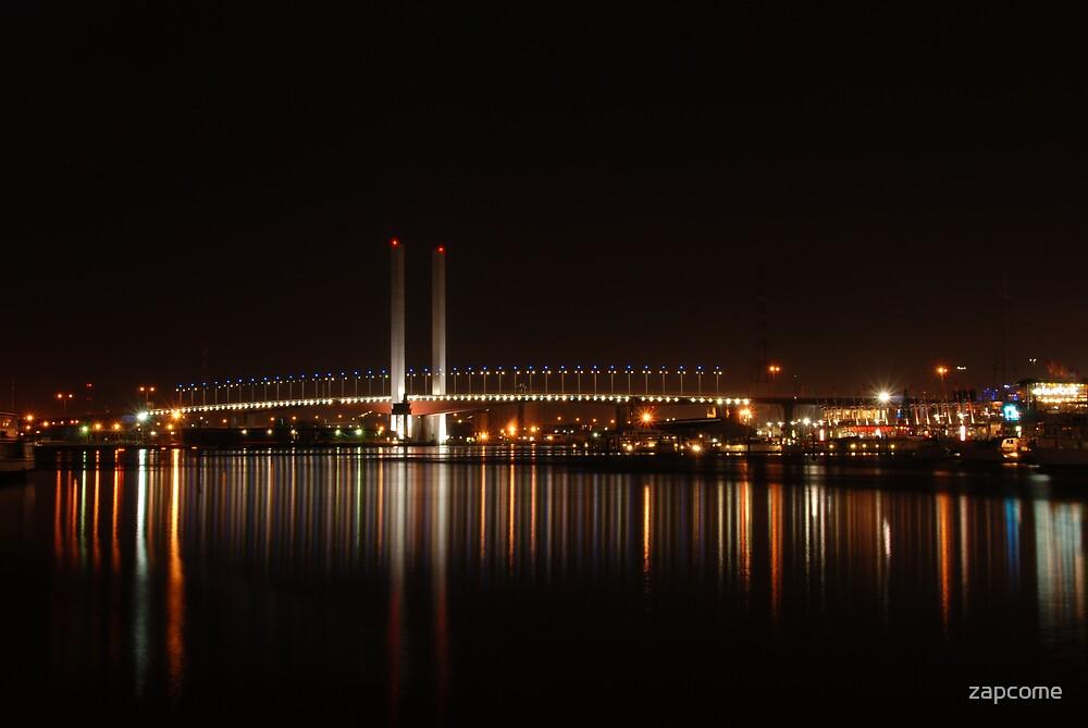 Bolte Bridge, Docklands by zapcome