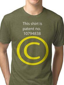 Copyright Tri-blend T-Shirt