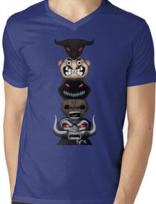 Totem of the Metal Mascots Mens V-Neck T-Shirt
