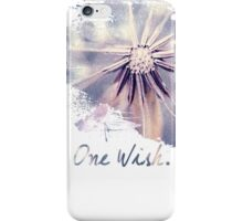 Dandelion Blue Graphic - Horizontal  iPhone Case/Skin