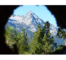 Through a Lens Photographic Print