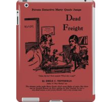 Emile Tepperman - Marty Quade - Dead Freight 2 iPad Case/Skin