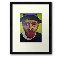 Portrait of Vincent Van Gogh Framed Print