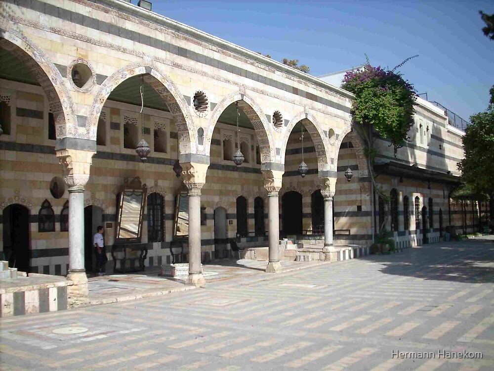 Azem Palace, Damascus, Syria by Hermann Hanekom