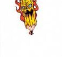 evil pencil by wickeddezignz
