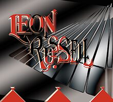 Leon Russell Art/Logo by L. R. Emerson II by L R Emerson II