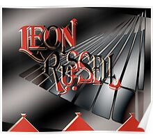 Leon Russell Art/Logo by L. R. Emerson II Poster
