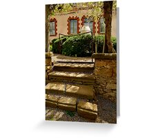 Villa Entrance Greeting Card