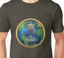 Naval Special Warfare Group Four - NSWG-4  Unisex T-Shirt