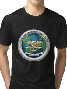 Naval Special Warfare Group Three - NSWG-3  Tri-blend T-Shirt