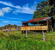The old farm house by Brent Randall