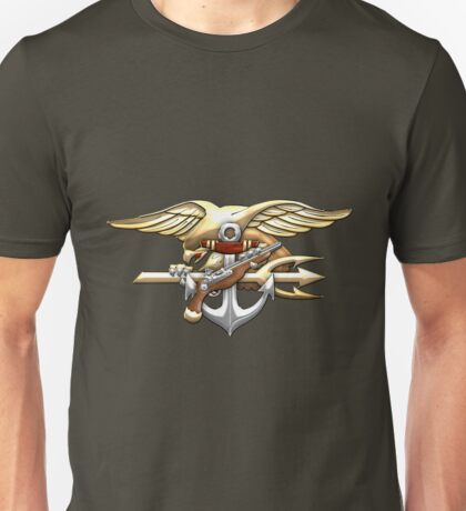 U.S. Navy SEALs Trident Emblem  Unisex T-Shirt