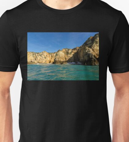 Jewel Toned Ocean Art - a Little Rough but oh so Beautiful Unisex T-Shirt