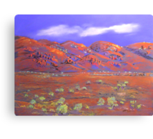West of Mt.Isa #3 Canvas Print
