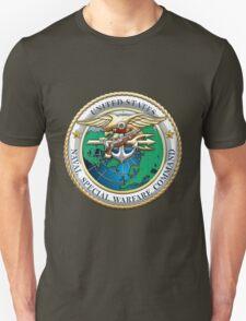 Naval Special Warfare Command - NSWC - Emblem  Unisex T-Shirt