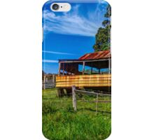 The old farm house iPhone Case/Skin