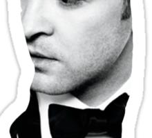 Justin Timberlake Double Exposure Sticker