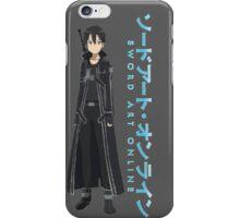 Sword Art Online- Kirito iPhone Case/Skin
