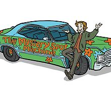 The Mystery Spot Machine by Meg Kirkpatrick