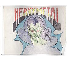 heavy metal 1 Poster