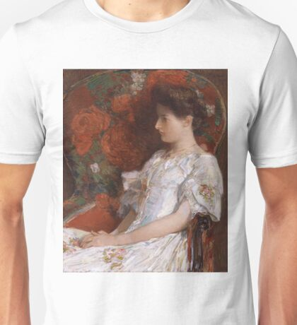 Childe Hassam - The Victorian Chair (1906) Unisex T-Shirt