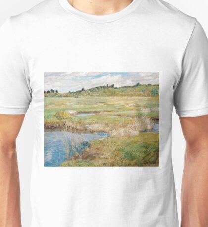 Childe Hassam - The Concord Meadow, Concord, Massachusetts Unisex T-Shirt