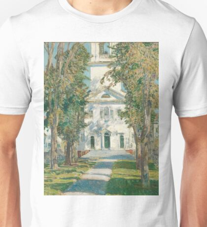 Childe Hassam - The Church At Gloucester Unisex T-Shirt