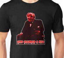 Give grandad a kiss. Unisex T-Shirt