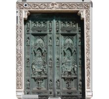 Entrance to the Duomo of Florence Italy iPad Case/Skin