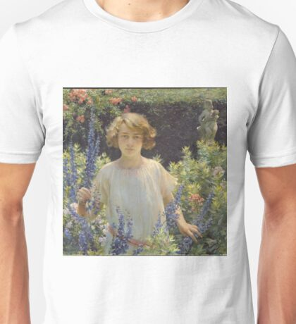 Charles Courtney Curran - Betty Gallowhur (Betty Newell) Unisex T-Shirt
