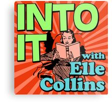 Into It with Elle Collins Metal Print