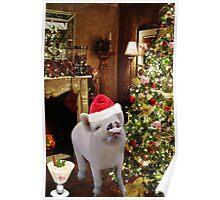 • ★ *˚ .ღ WILBERS CHRISTMAS~~ I'M ENJOYING MY EGGNOG~~``` WISHING U ALL AN OINK OF A CHRISTMAS• ★ *˚ .ღ  Poster