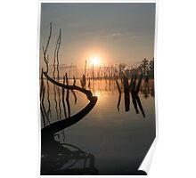 Sunrise over Manasquan Reservoir II Poster