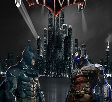 Batman Vs The Arkham Knight by RedHoodArt