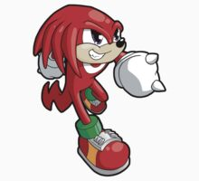 Sonic the Hedgehog - Knuckles Kids Clothes