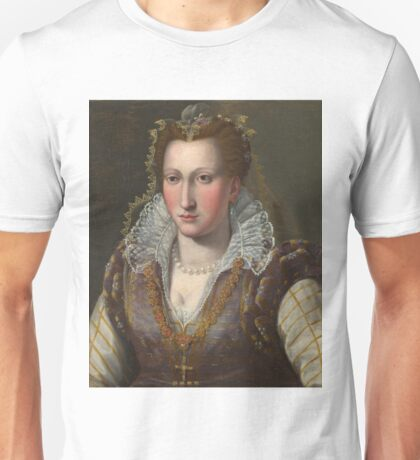 Bronzino - Portrait Of A Lady Unisex T-Shirt