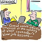 Cartoon - Marriage Guidance counsellor gives extra lessons. by NigelSutherland