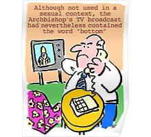 TV viewer makes complaint. Poster