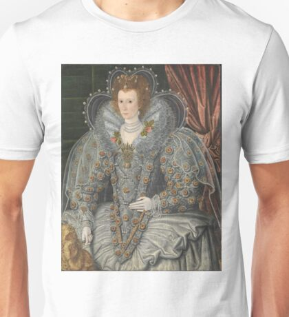 British Painter - Portrait Of A Woman Unisex T-Shirt