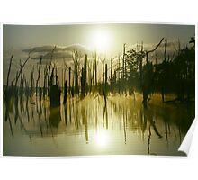Sunrise over Manasquan Reservoir III Poster