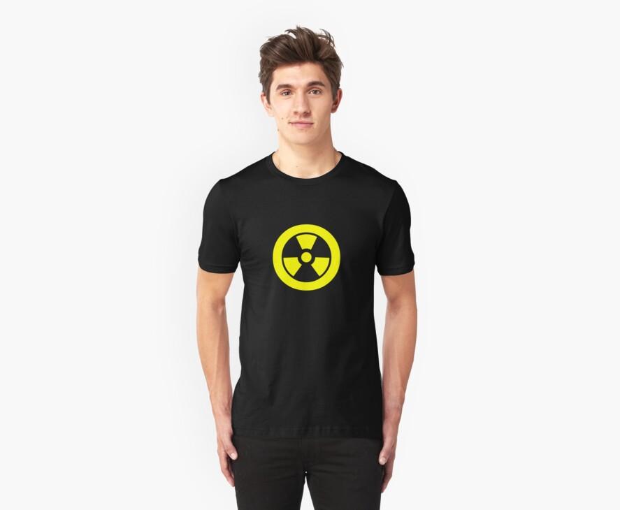 RAIDIATION WARNING by Awesome Rave T-Shirts
