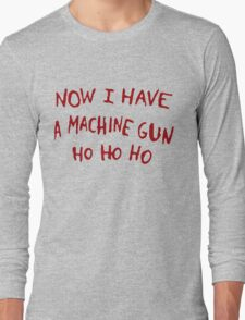 Die Hard Xmas Jumper Long Sleeve T-Shirt
