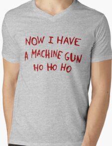 Die Hard Xmas Jumper Mens V-Neck T-Shirt