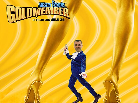Jeff Burns in Goldmember by Jeff  Burns