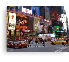 Times Square! Canvas Print