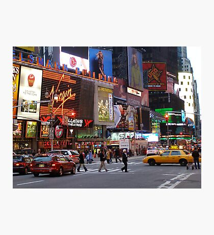 Times Square! Photographic Print