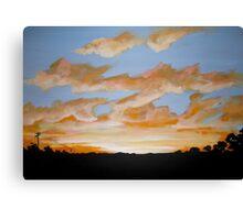 Sunset Park Canvas Print