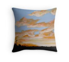 Sunset Park Throw Pillow