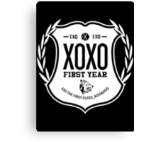 Exo XOXO First Year 2B Canvas Print